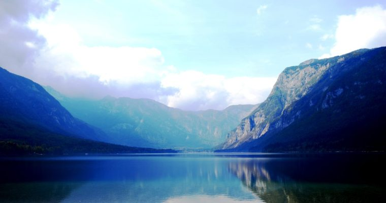 "Lake Bohinj – the ""other"" beautiful lake of Slovenia (beside Lake Bled)"