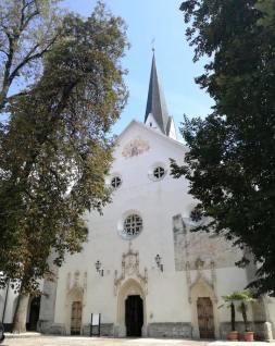 the Church of St Peter, Radovljica