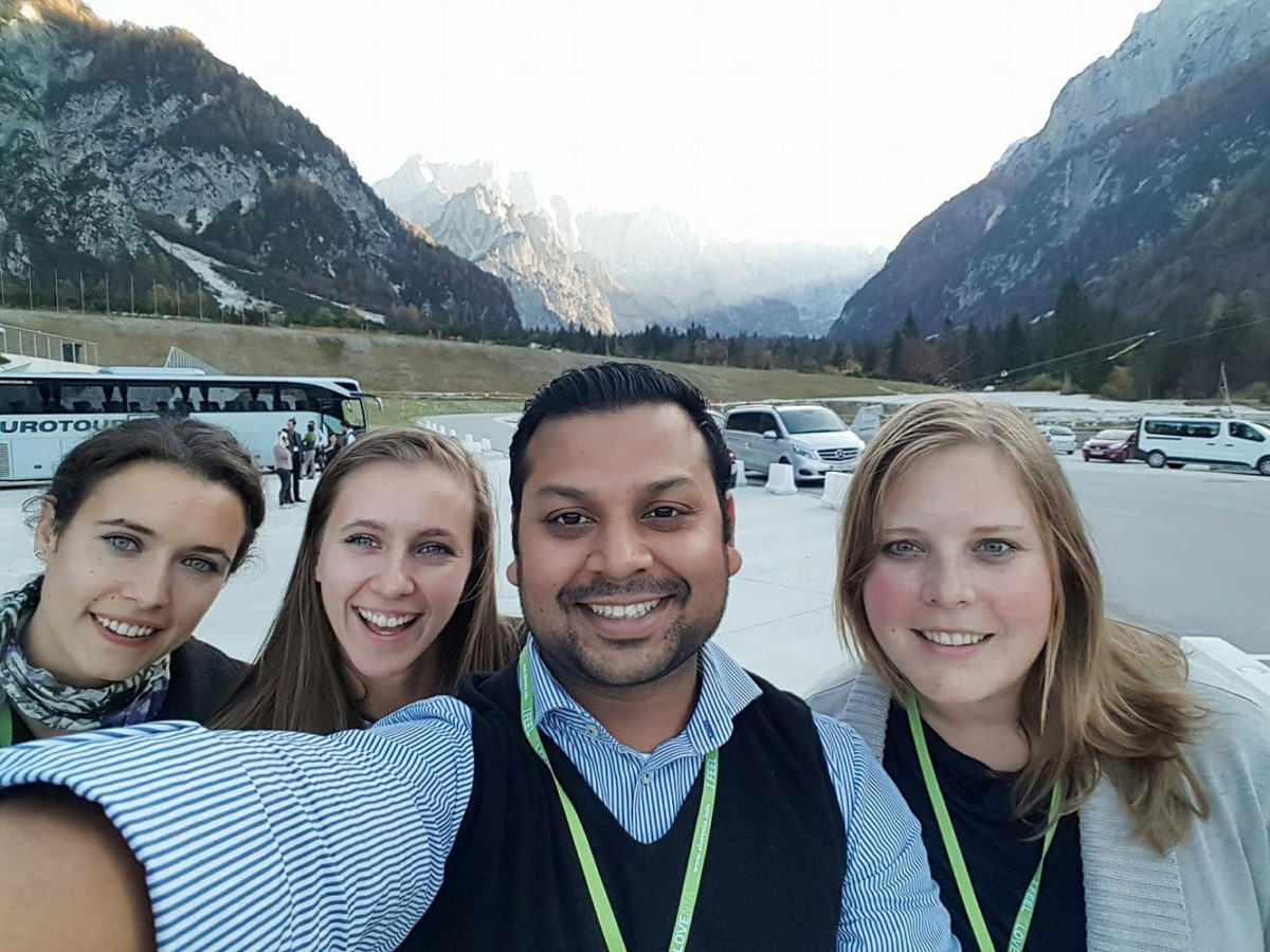 Syed Bashar, entrepreneur:  »Visiting Slovenia is something I definitely recommend to everyone!«