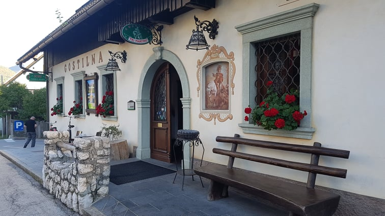 Gostilna Pri Martinu – a really good local restaurant in Kranjska Gora!🍴😍