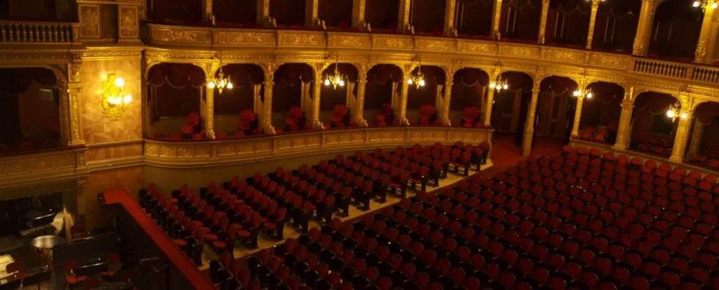 The Hungarian State Opera House in Budapest