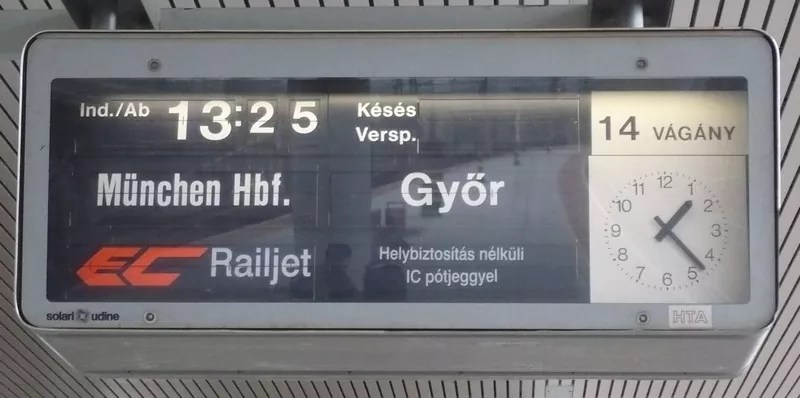 picture of train station sign