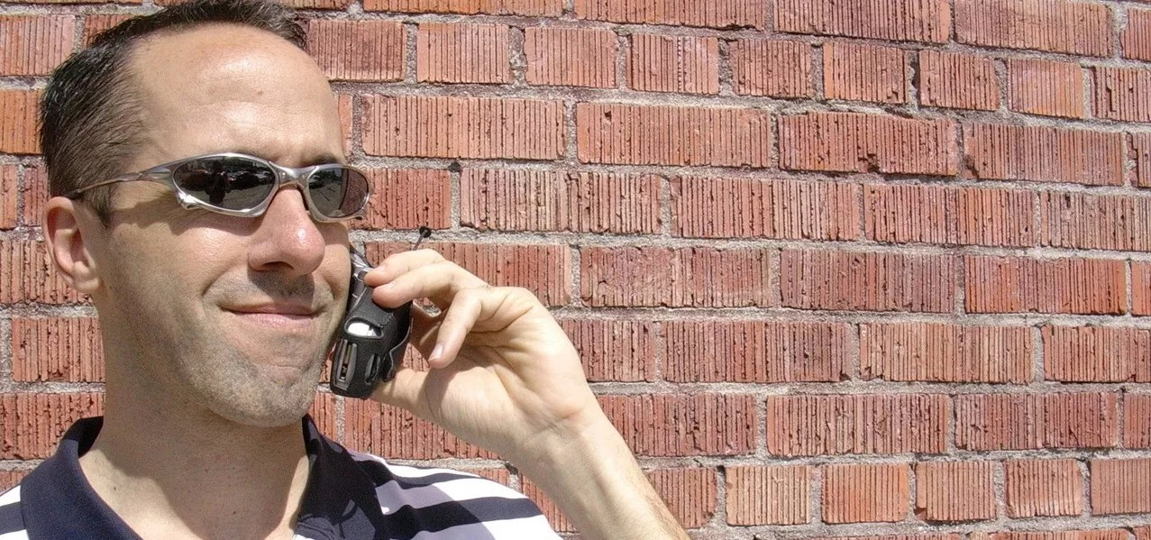 picture of man on phone