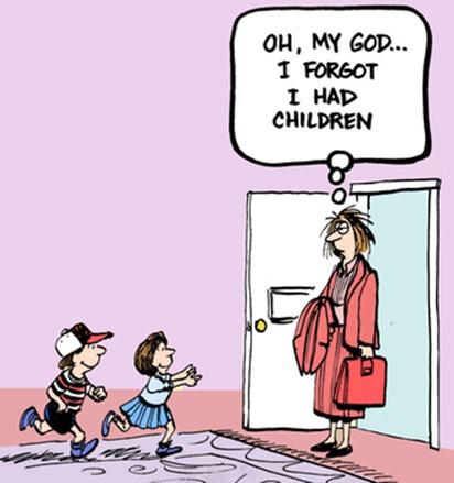 Oh my I forgot I had children at door