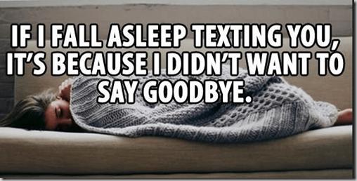 goodnight text