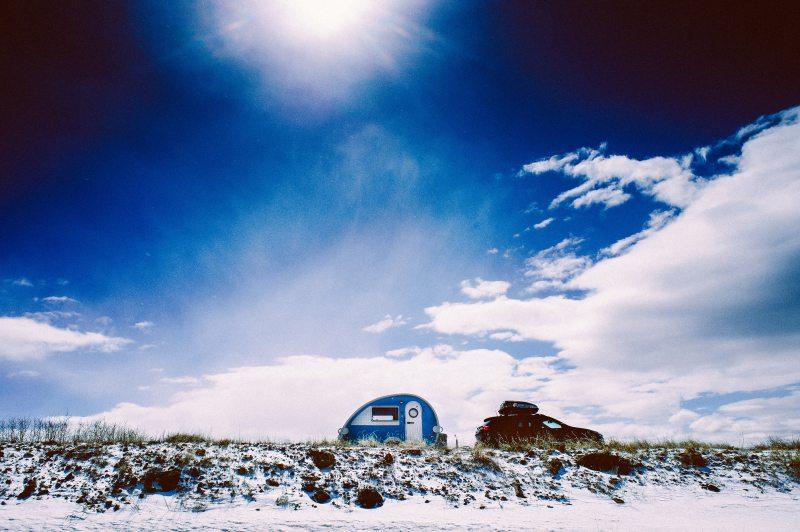 tow-behind camper