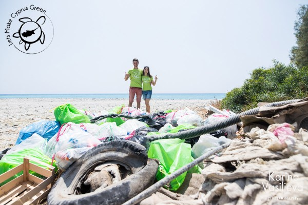 LMCG Kourion Beach Cleanup