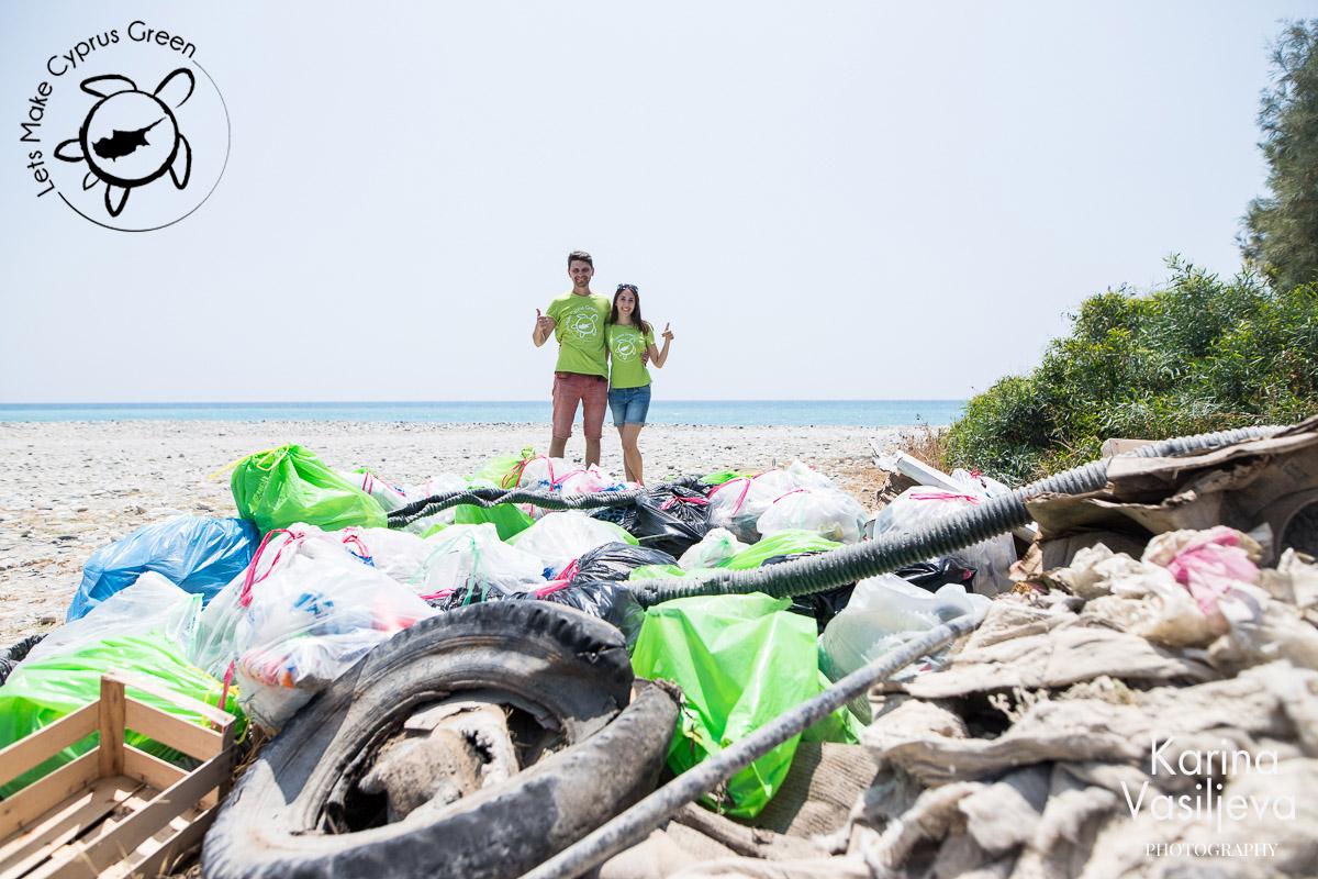 LMCG Kourion Beach Cleanup