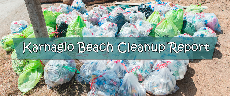 Karnagio Beach Clean-Up