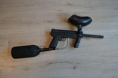 Dit geweer op luchtdruk is voor personen boven de 18 jaar.