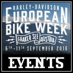 Harley Davidson European Bike Week 2016