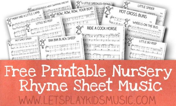 free printable sheet music for piano # 7