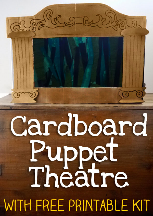 How To Make A Homemade Puppet Theatre Lets Play Music