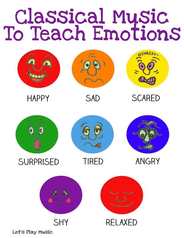 Classical Music To Teach Emotions Lets Play Music