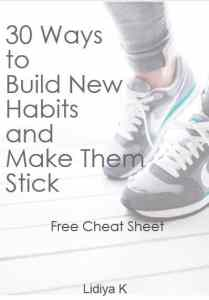 build new habits report cover