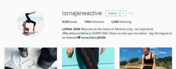 lornajaneactive instagram account strategy - letsreachsuccess.com