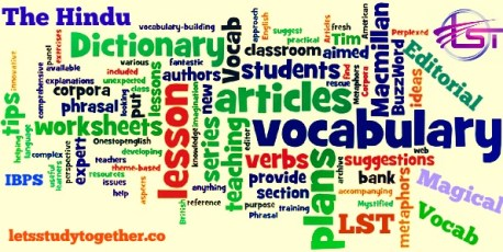Bank exams previous years vocabulary