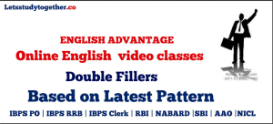 Online English video classes : Double Fillers