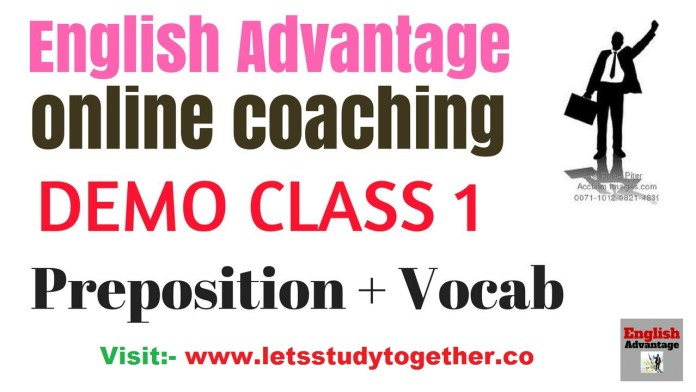 English online video classes