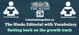 The Hindu Editorial with Vocabulary
