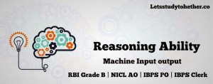 Machine Input-Output Questions for IBPS PO Mains