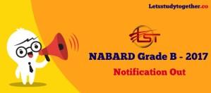 NABARD Grade B Recruitment 2017-18