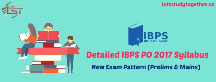 Detailed IBPS PO 2017 Syllabus