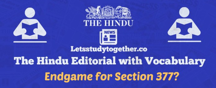The Hindu Editorial words with Vocabulary