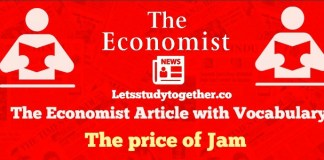The Economist Editorial with Vocab