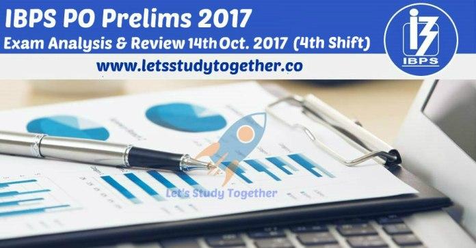 IBPS PO 2017 Prelims Exam Analysis & Review