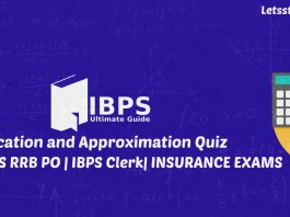 Simplification and Approximation Quiz for IBPS Clerk