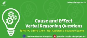 Verbal Reasoning Questions for IBPS PO