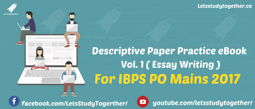 descriptive book for ibps po mains vol i essay writing  descriptive book for ibps po mains 2017 vol i essay writing now