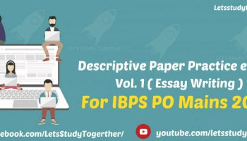 descriptive book for syndicate bank po vol i essay  descriptive book for ibps po mains 2017 vol i essay writing