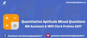 Quantitative Aptitude Miscellaneous Questions