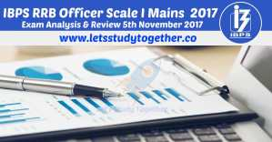 IBPS RRB Officer Scale I Mains Analysis