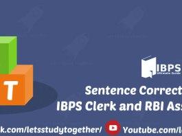 Sentence Correction Quiz