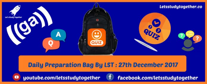 Daily Preparation Bag By LST