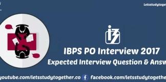 IBPS PO Interview 2017