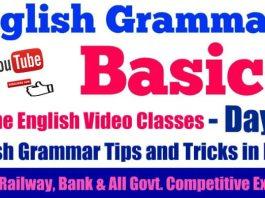 Basic English Grammar in Hindi