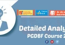 PGDBF course