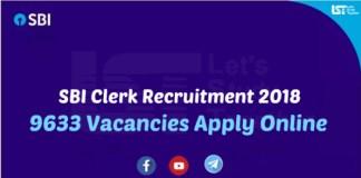 SBI Clerk Recruitment Notification
