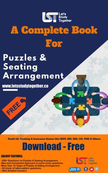 Puzzle & Seating Arrangement PDF