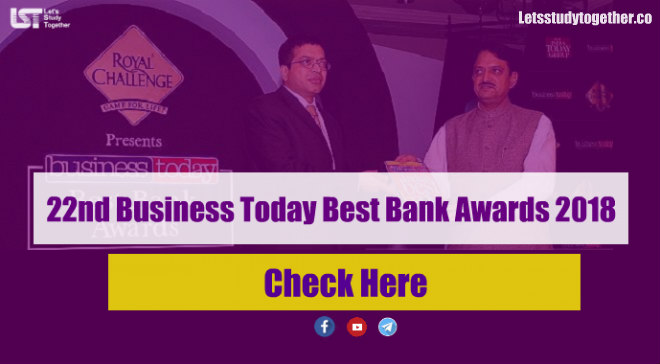 Best Bank Awards Winners List