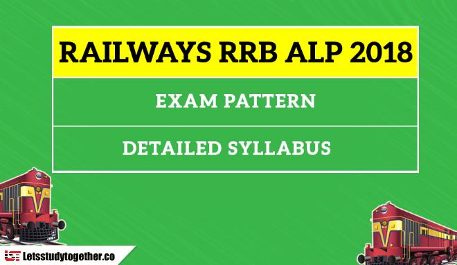 Railways RRB ALP 2018: Detailed Exam Syllabus