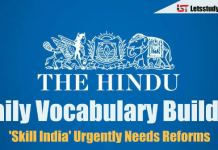 Daily Vocabulary Builder PDF - 11th April 2018