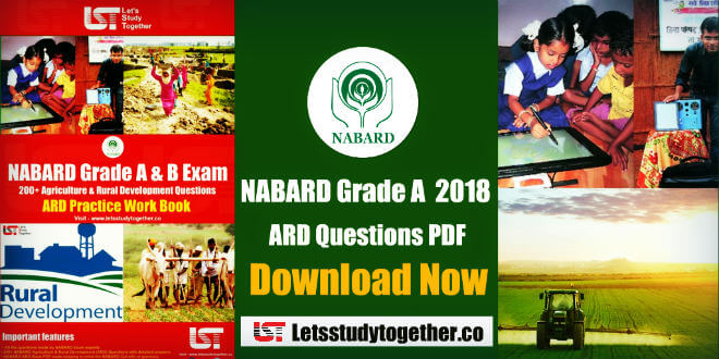 NABARD Agriculture & Rural Development (ARD) Practice Work Book – Download Now