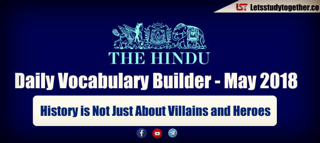 Daily Vocabulary Builder PDF BY LST - 24th May 2018