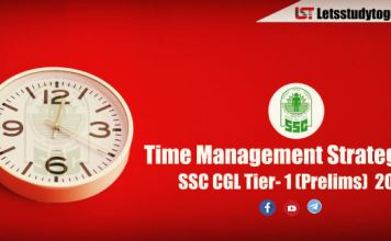 Latest Time Management Strategy for SSC CGL Tier- 1 (Prelims) 2018