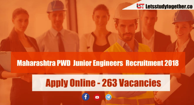 Maharashtra PWD Junior Engineers (JE) Recruitment 2018